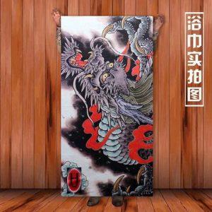 Ukiyo-e Towel L-Size3