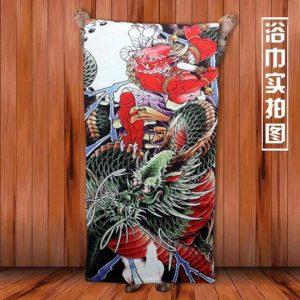 Ukiyo-e Towel L-Size6