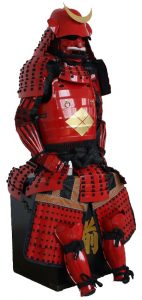 Japanese Samurai Red Takeda Armor