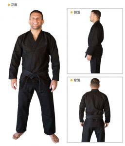 Kimonos Pearl Weave 480G : Gi 3 Colors Black Blue White4