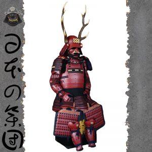 Sanada Yukimura Samurai Armor Yoroi Wearable Suit