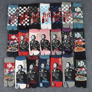 Japanese Cotton Tabi Socks 21