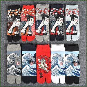 Japanese Cotton Tabi Socks1